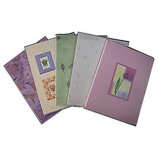 Flexible Cover Compact Album - Holds 36 4x6 In. Photos, 1-Up Style (Floral Colors) Image 0