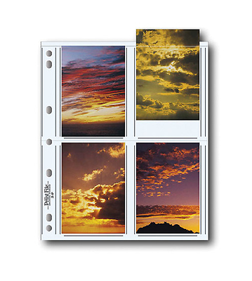 35-8P Photo Pages (25 Pack) Image 0