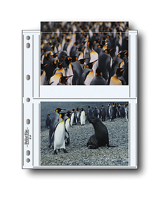 57-4P 5x7in. Photo Pages (100 pack) Image 0