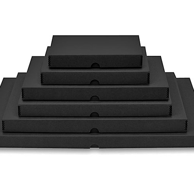 16x20in. Drop-Front Metal Edge Storage Box Image 0