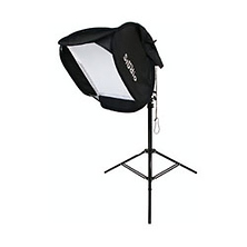Softbox with Stand for Shoe Mount Flash Image 0