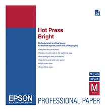 Hot Press Bright Smooth Matte Paper, 13 x 19in. - 25 Sheets Image 0