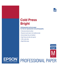 Cold Press Bright Textured Matte Paper, 13 x 19in. (25 Sheets) Image 0