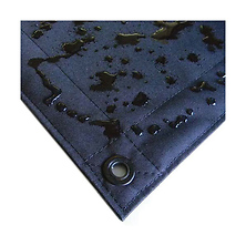 12x12 ft. Butterfly Overhead Fabric Double Scrim (Black) Image 0