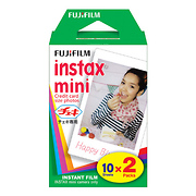 Instax Mini Instant Color Print Film (Twin Pack) (ISO 800)