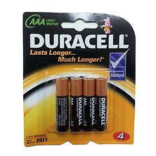 AAA 1.5V Alkaline Coppertop Batteries (4 Pack) Image 0