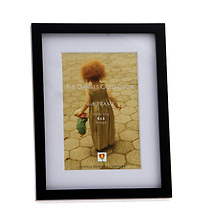 Gallery Wood Frame with Mat, Ebony - 4 x 6 Image 0
