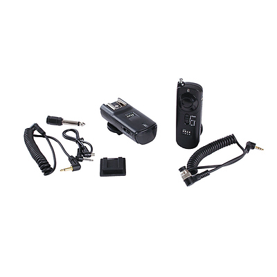 3-in-1 Wireless Remote Control Kit for Nikon 10-pin Series Image 0