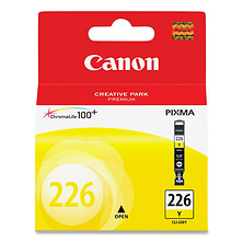 CLI-226 Yellow Ink Cartridge Image 0