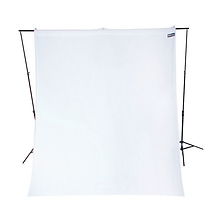 9 x 10 ft. Wrinkle-Resistant Cotton Backdrop (Hi Key White) Image 0