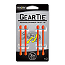 3 inch Gear Tie - 4 Pack (Orange)