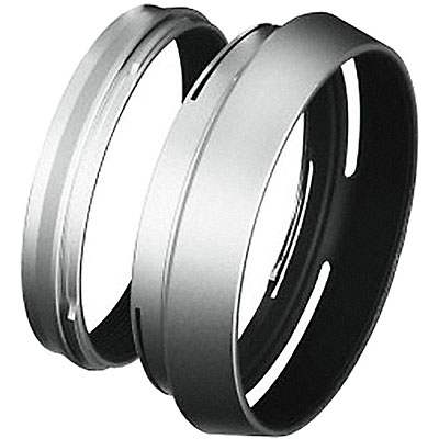 LH-X100 Lens Hood with Adapter Ring for the X100 Camera Image 0