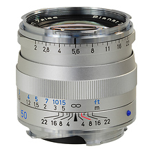 50mm f/2.0 Planar T* ZM MF Lens (Leica M-Mount) - Silver Image 0