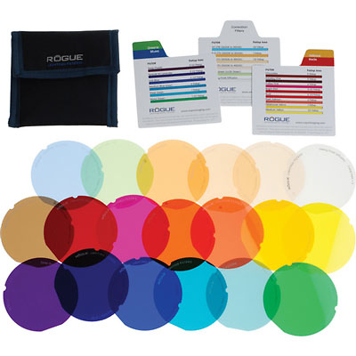 Rogue Gels Lighting Filter Kit for Rogue Grid (20 Pack) Image 0