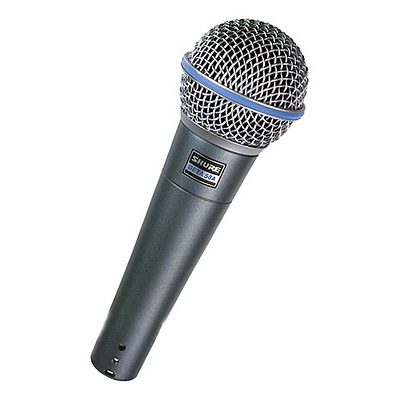 Beta 58A Super-Cardioid Handheld Dynamic Microphone Image 0