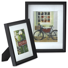 Casa Frame 8x10 with 5x7 Mat Opening (Matte Black) Image 0