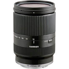18-200mm F/3.5-6.3 Di III VC Lens for Sony E Mount Cameras (Black) Image 0