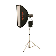 AKC50BRK 320W/s Travel Soft Box Kit with Battery and Radio (AC/DC) Image 0