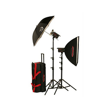 500W/s PowerLight Digital Travel Kit with PocketWizard (120V) Image 0