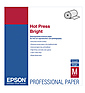 Hot Press Bright Archival Inkjet Paper (17in. x 50' Roll)