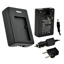 1 Hour Rapid Charger for Canon NB-12L Battery Image 0