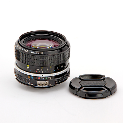 28MM F/2.8 AIS Nikkor Prime Lens - Used Image 0