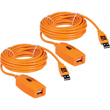 2 x 16' (4.88 m) TetherPro USB 2.0 Active Extension Cables Image 0