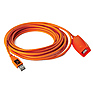 16 Ft TetherPro USB 3.0 Active Extension Cable (Hi-Visibility Orange)