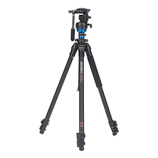 S-Series 1 Video Head & AL Flip Lock Legs Tripod Image 0