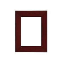 Angled Gallery Wood Molding Frame for a 11 x 14 In. Photograph - Dark Walnut Image 0