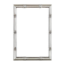 Satin Pewter Finish Bamboo Classic - 5x7 Photo Frame Image 0