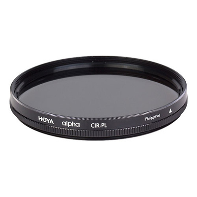55mm alpha Circular Polarizer Filter Image 0