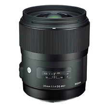 35mm f/1.4 DG HSM Art Lens for Canon EF Image 0