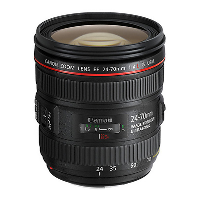 EF 24-70mm f/4.0L IS USM Standard Zoom Lens Image 0