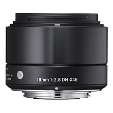 19mm f/2.8 DN Lens for Sony E Mount Micro 4/3's (Black) Image 0