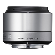 19mm f/2.8 DN Lens for Sony Micro 4/3's E Mount (Silver) Image 0