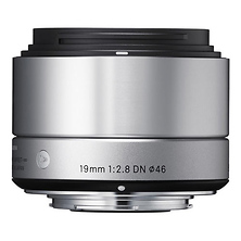 19mm f/2.8 DN Lens for Micro 4/3 (Silver) Image 0