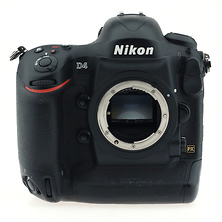 D4 Digital SLR Camera Body Only - Pre-Owned Image 0