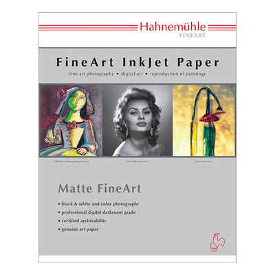 William Turner Matt Fine Art Paper - 190 gsm (13 x 19 In. - 25 Sheets) Image 0