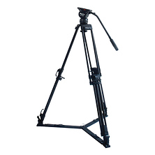 ProElite 75mm 2-in-1 Video Tripod With Fluid Head Image 0