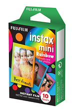Instax Mini Picture Format Rainbow Instant Film (10 Shots) Image 0