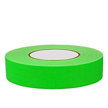 1 Inch Gaffers Tape (Fluorescent Green) Image 0