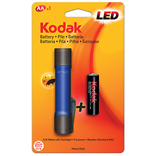 LED Mini Heavy-Duty Flashlight Image 0