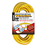 Outdoor Extension Cords 50ft 12/3 with Primelight Indicator (Yellow)