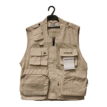 Photo Vest 9 (Beige, XL) Image 0