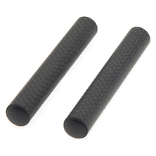 15mm Pair of Carbon Fiber Rods (4 Inches Long) Image 0
