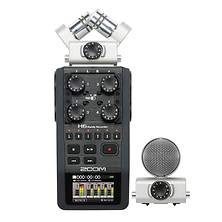 H6 Handy Recorder with Interchangeable Microphone System Image 0