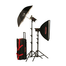 1,000W/s PowerLight Digital Travel Kit with PocketWizard (120V) Image 0