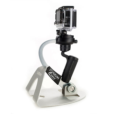 Curve Compact Camera Stabilizer for GoPro (Silver) Image 0