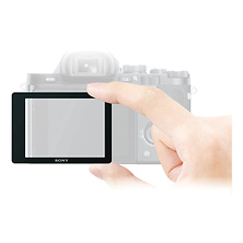 Semi-Hard LCD Screen Protector for a7 or a7R Digital Camera Image 0